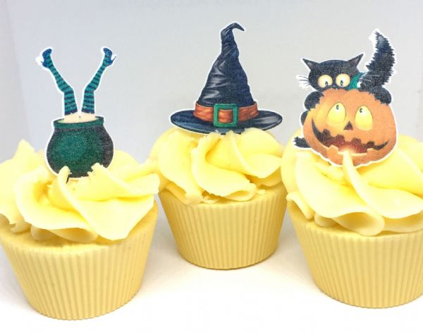 Halloween edible cake toppers